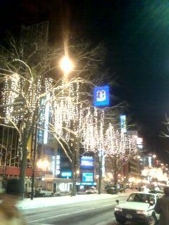 ただいま札幌です