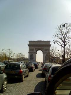 パリに入りました。